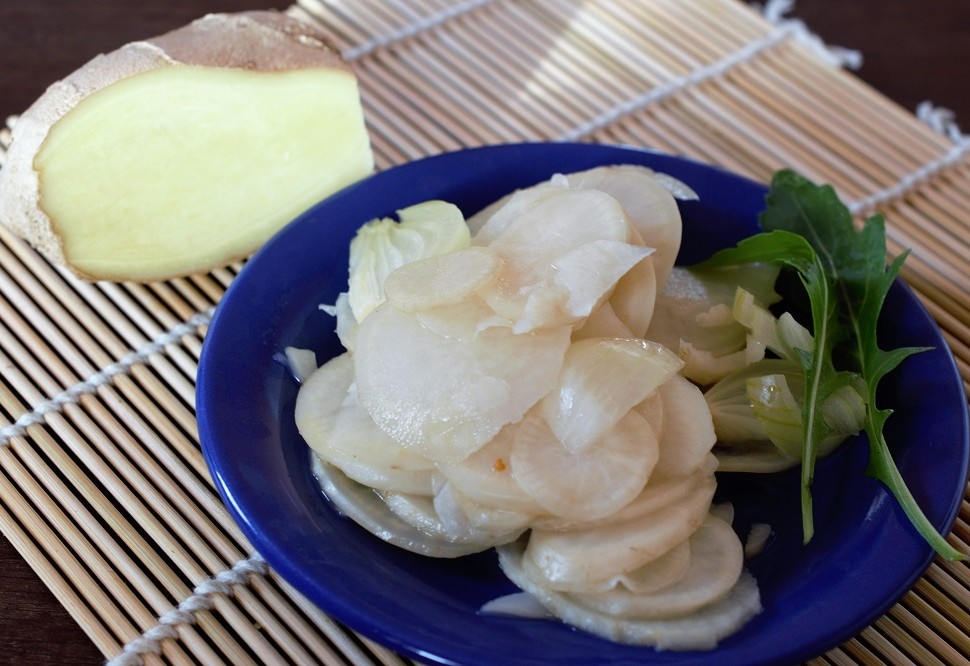 Makrobiotika, pickles daikon
