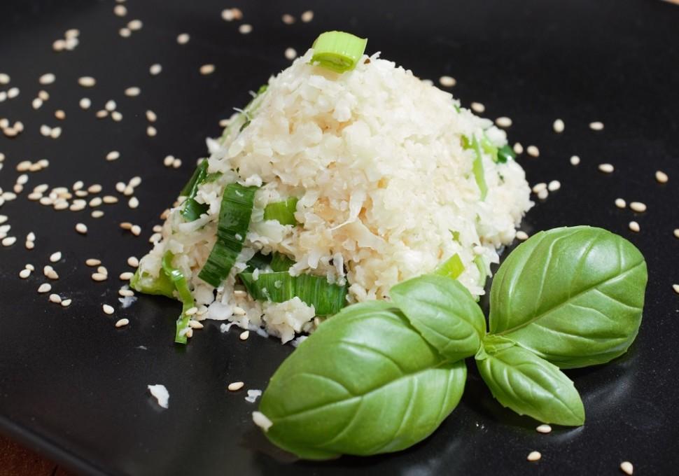 Karfiol ako ryža