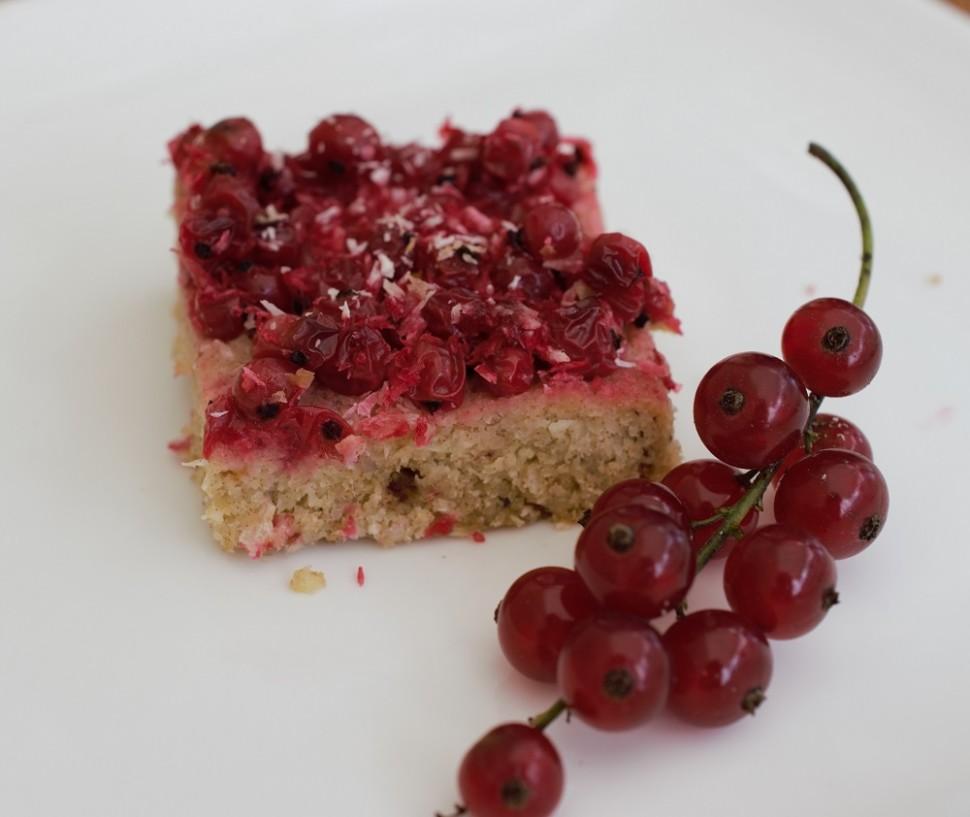 ríbezľový koláč bez cukru